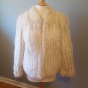 Saga Fox Blue Fox Coat